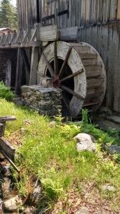 sawmill water wheel